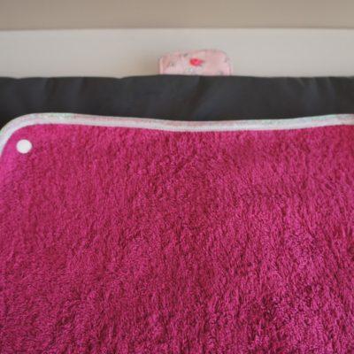 L'intérieur du tapis à langer XL