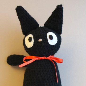 Amigurumi* Jiji (Kiki la petite sorcière)