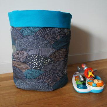 Corbeille (à jouets) pour Thom