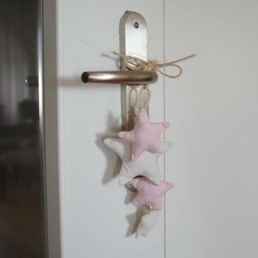 Décoration de poignée de porte à étoiles pour Kallan