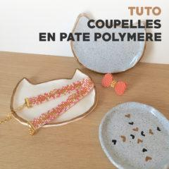 Tuto – Petites coupelles «chat» en pâte polymère