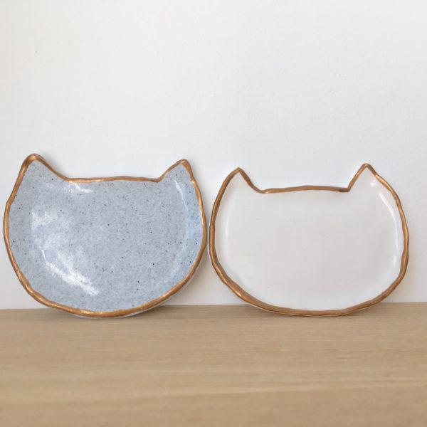 Petites coupelles Chats en pâte polymère