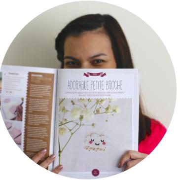 Parution Créative Magazine et mini-kit «Doux nuage et pluie dorée»