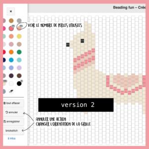 Beading fun - dessinez vos motifs de perles
