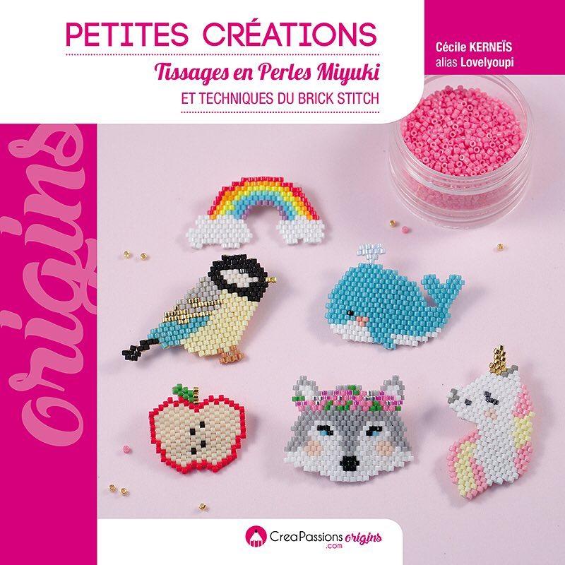 Livre Petites créations - Tissages en perles Miyuki