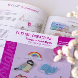 Mon livre – Petites créations : tissages en perles Miyuki