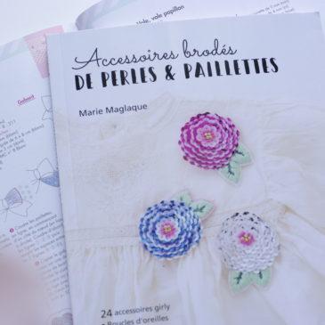 A découvrir : Accessoires brodés de perles & de paillettes, Marie Maglaque
