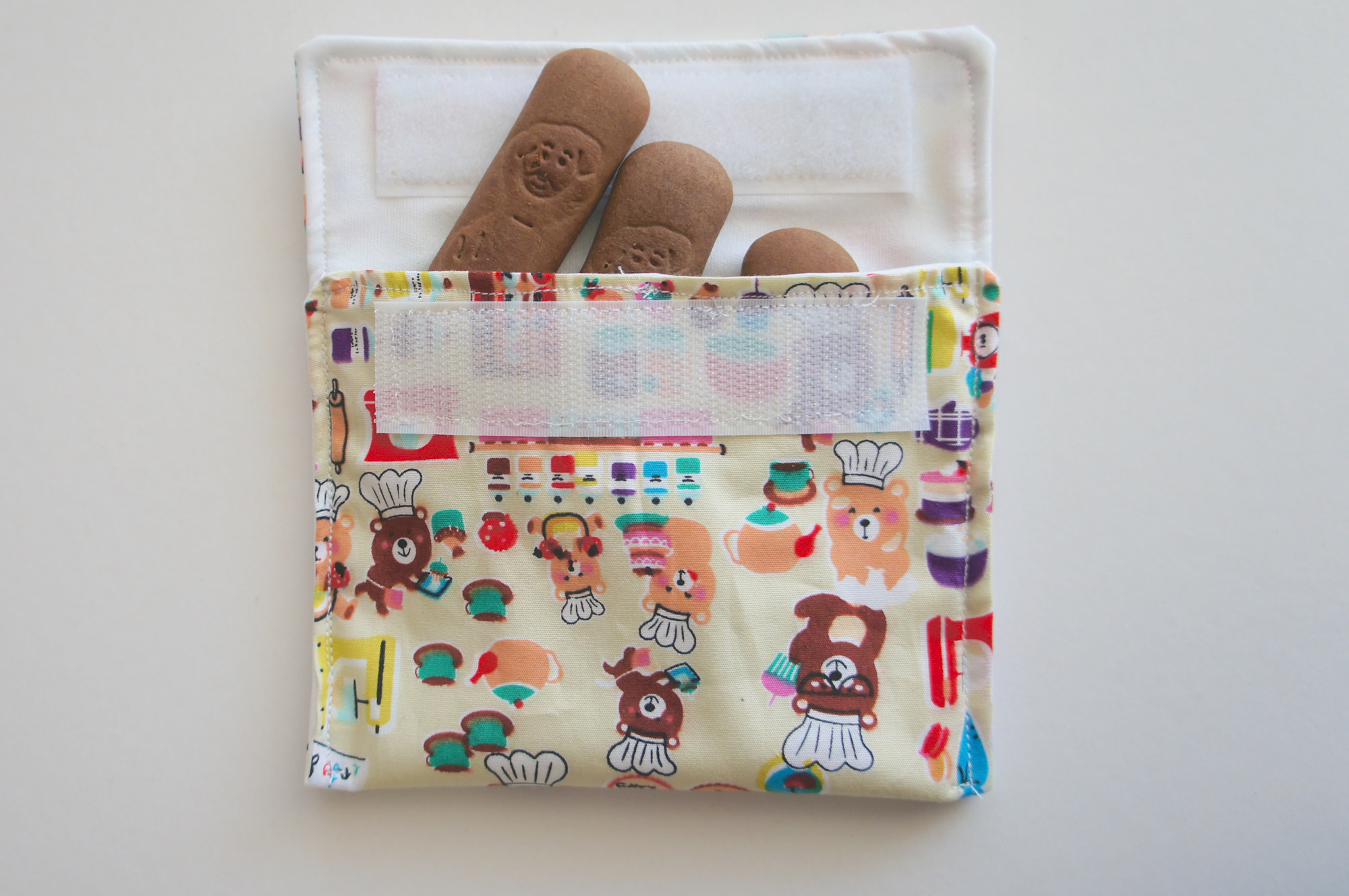 Pochette à biscuits kawaii
