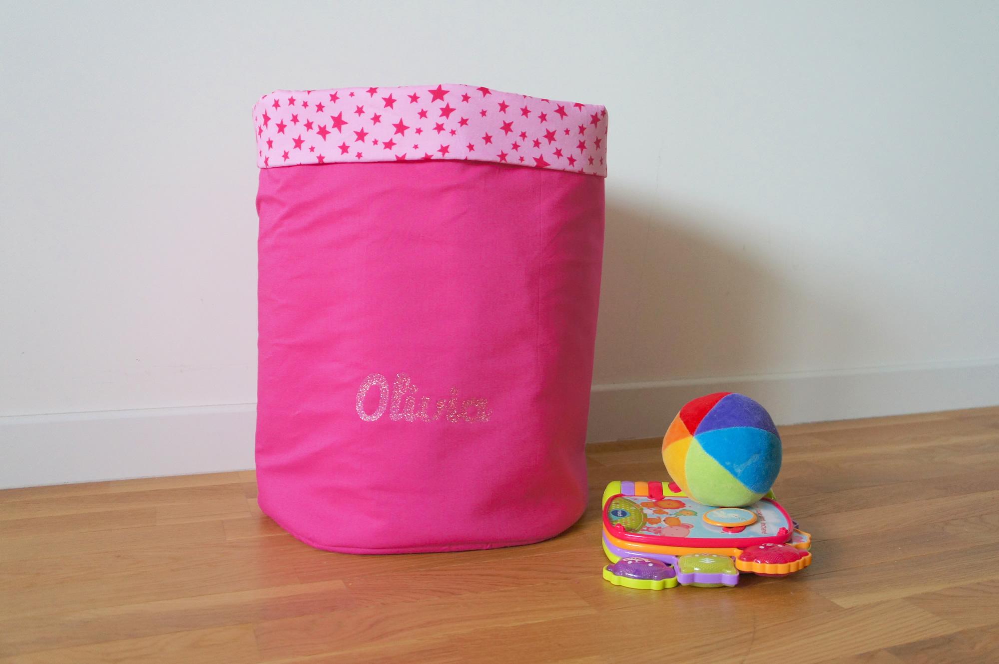 Corbeille (à jouets) pour Olivia