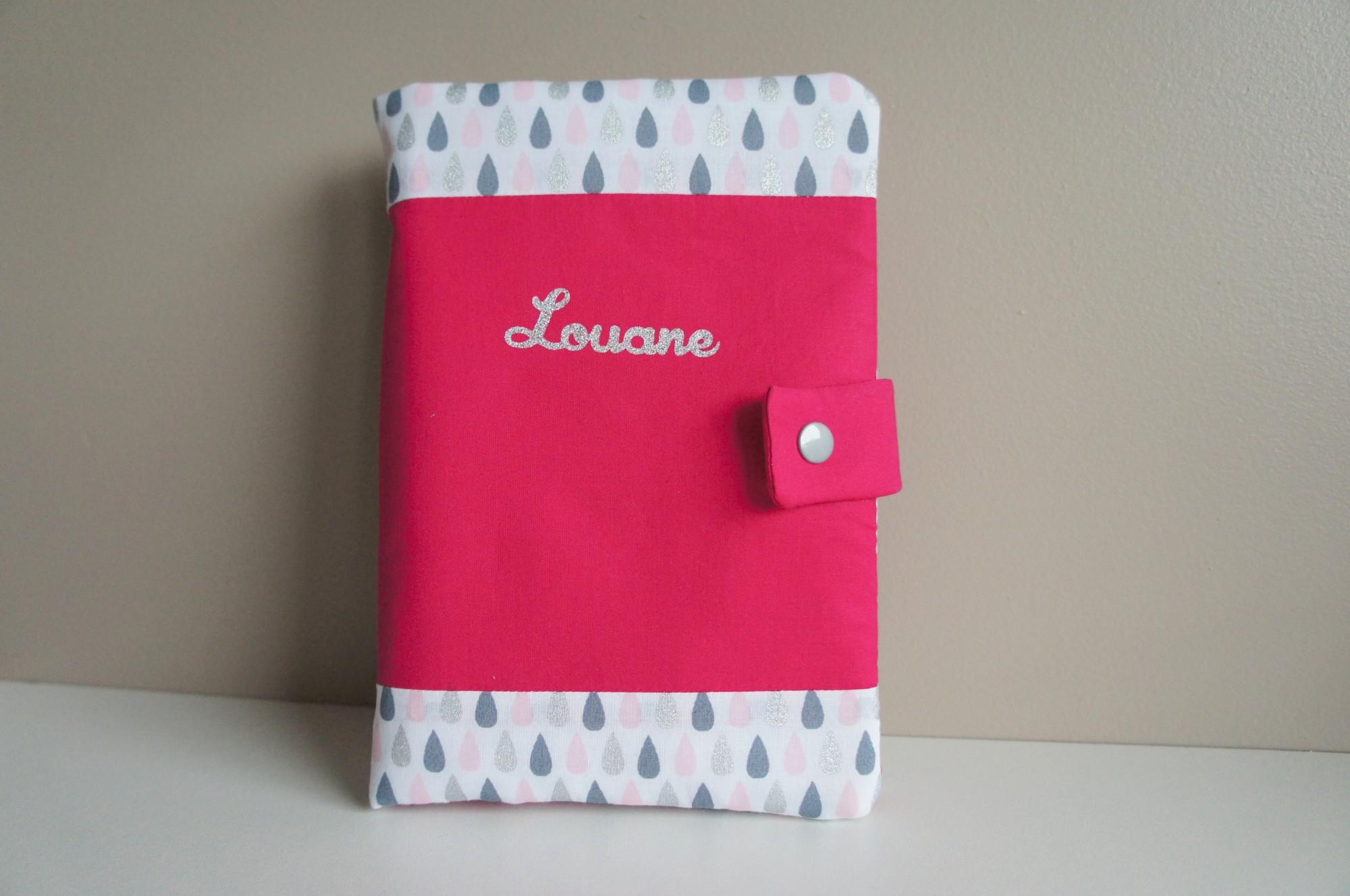 Protège carnet de santé pour Louane
