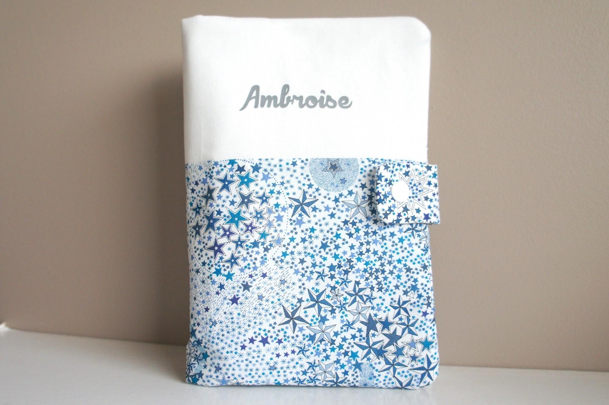 Protège carnet de santé pour Ambroise