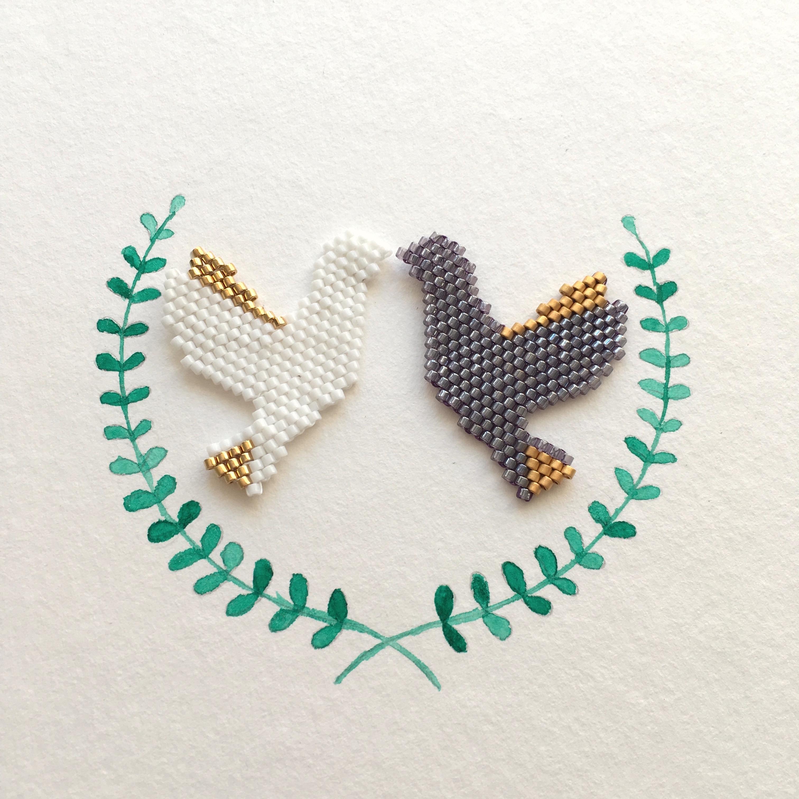 Duo de colombes