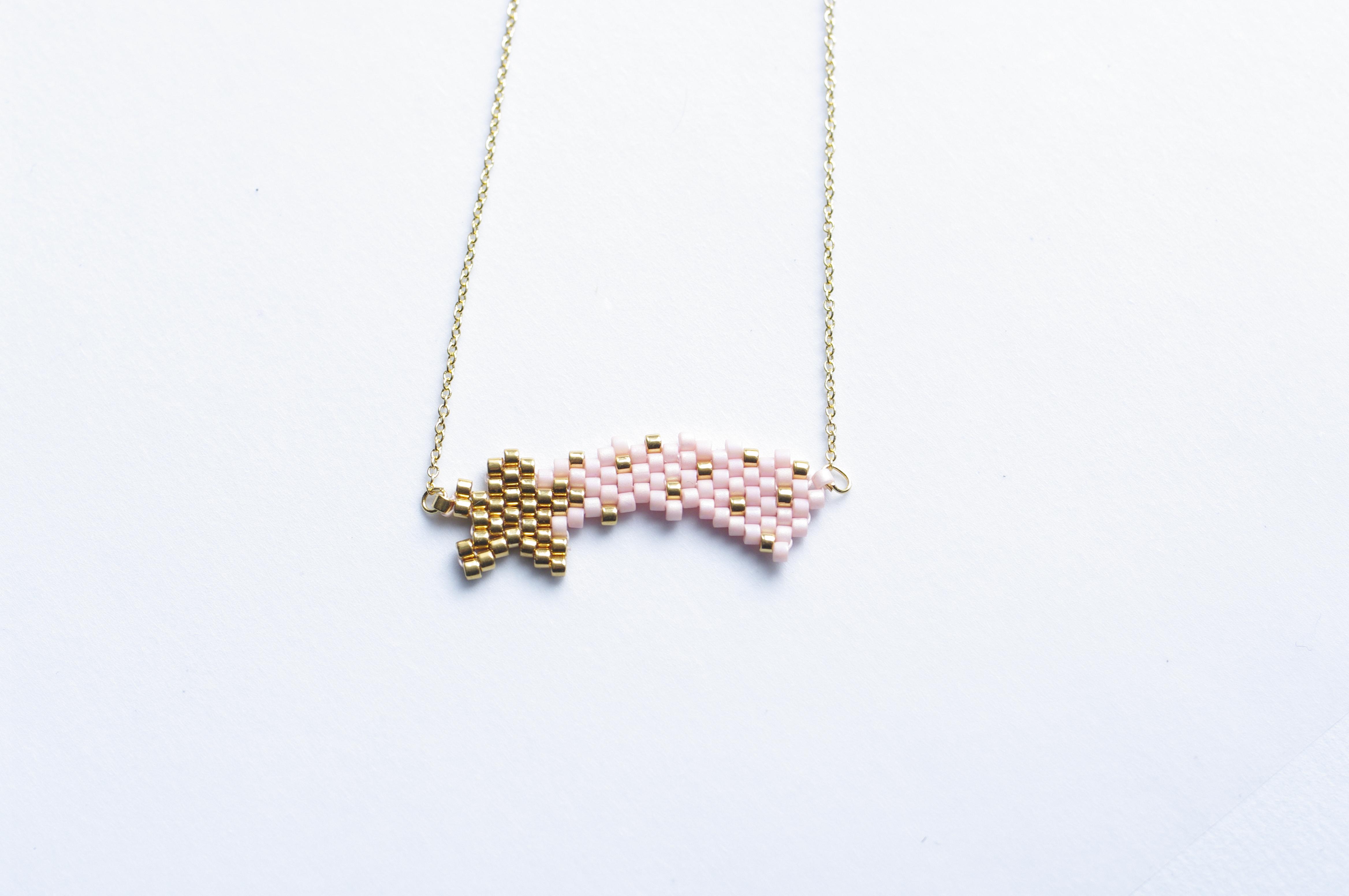 Tutoriel – L'étoile filante en tissage de perles brick stitch