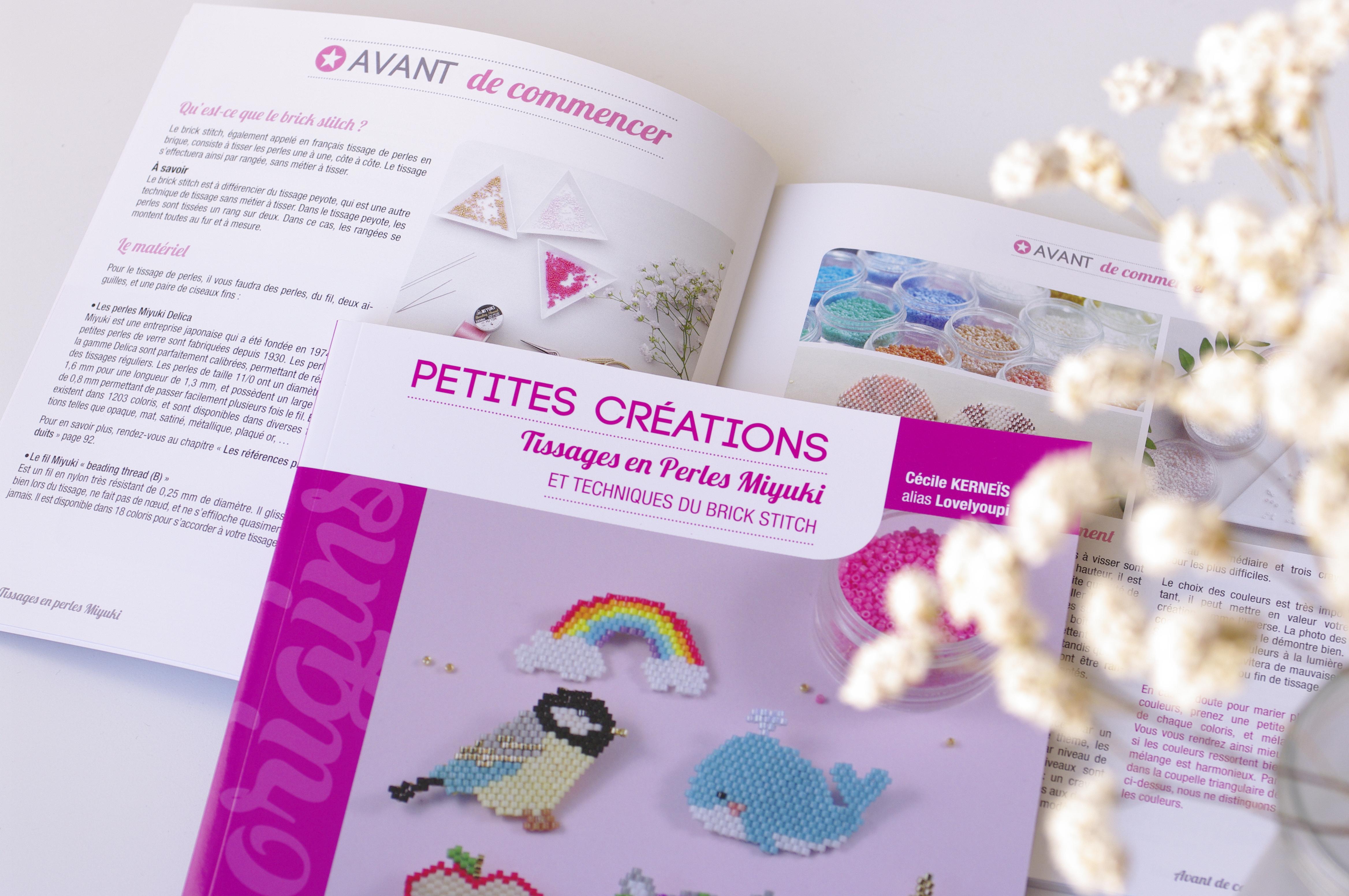 Petites créations : tissages en perles Miyuki