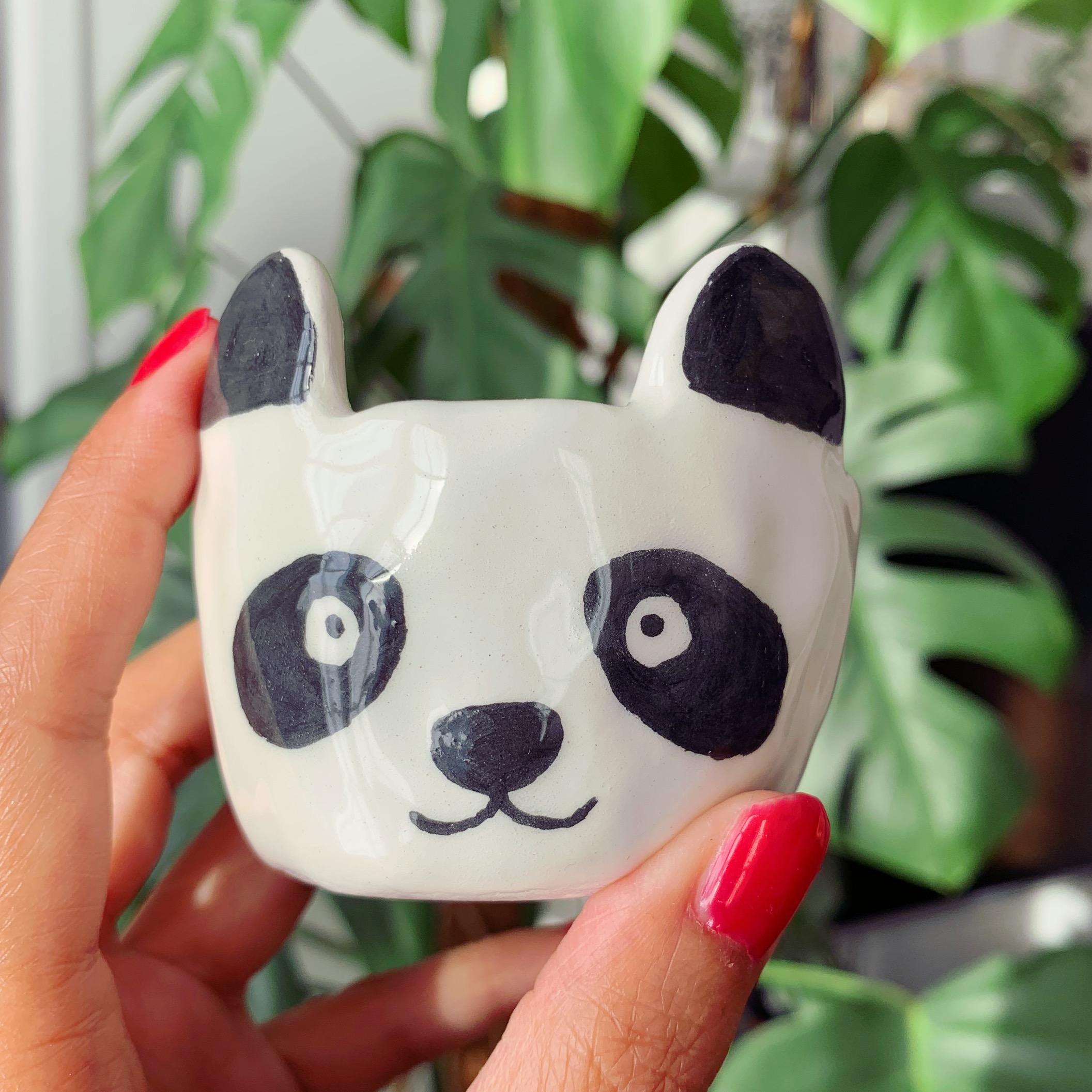 Mini pot panda