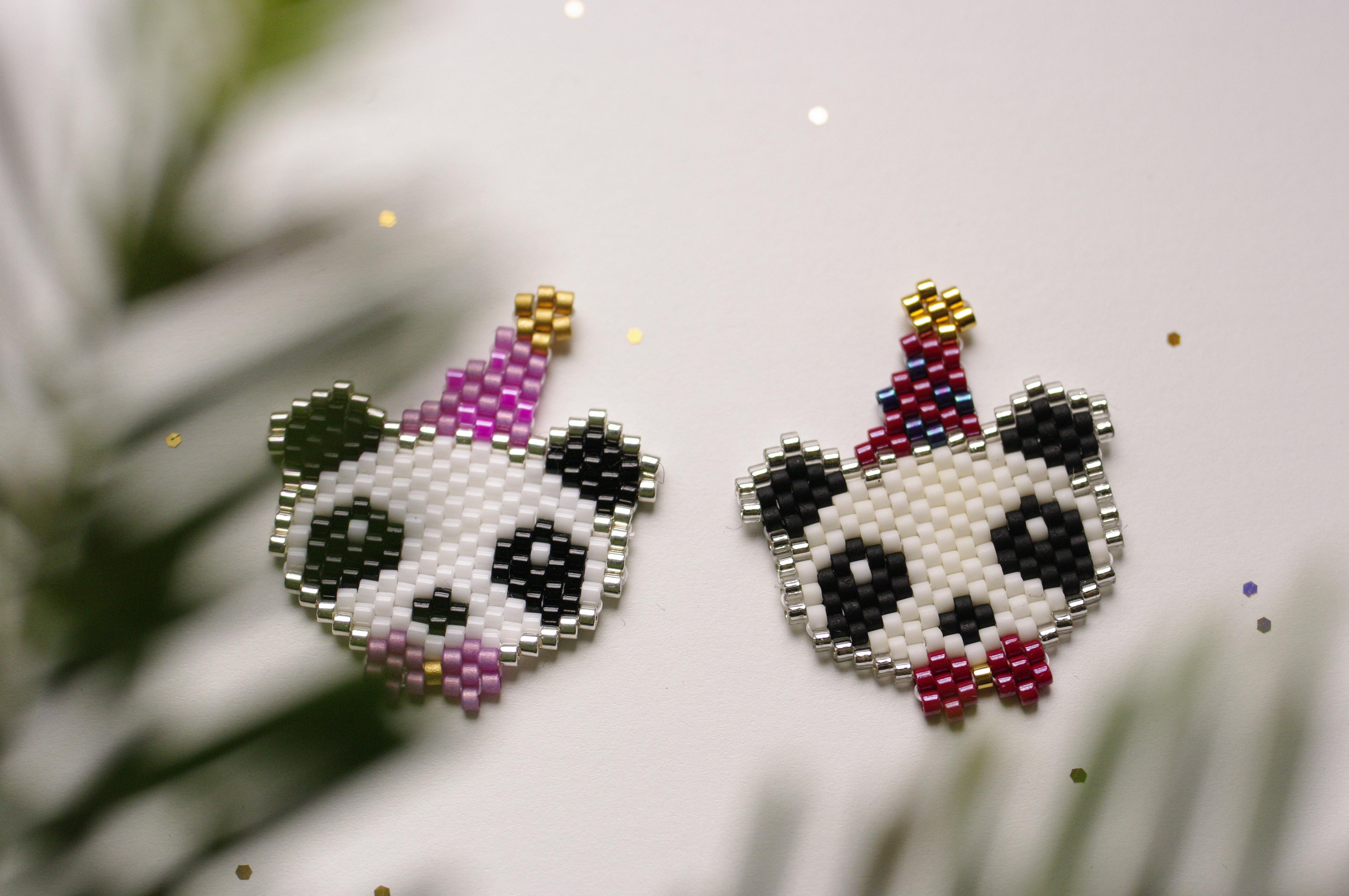Le panda festif / Diagramme surprise
